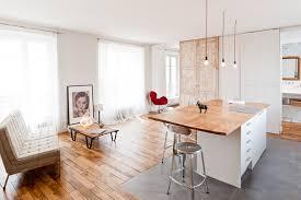 parquet salon carrelage cuisine parquet dans cuisine beautiful with parquet dans cuisine great du