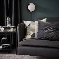 söderhamn 4er sofa mit récamiere offenes ende samsta dunkelgrau