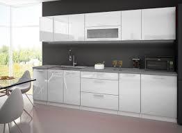cuisine blanc laqué pas cher cuisine complete 3m laquee blanc avec plan de travail amazon fr