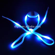 decorative light up shoe strings custom logo led shoelace light