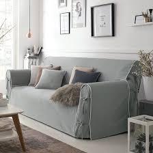 housse de canapé grise housse de canapé bridgy housses de canapé la redoute interieurs