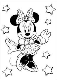 Minnie Mouse Coloring Pages For Kids Printable Online 45