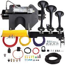 100 Truck Air Horn Kit Kleinn The Demon BoltOn S HDKIT734 Free Shipping On