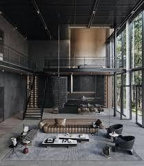 104 Interior Design Loft Modern In The Woods Australia By S Visualization