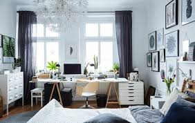 A Workspace In The Bedroom
