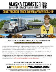 100 Recruiting Truck Drivers Alaska Teamsters Construction Driver Apprenticeship Program