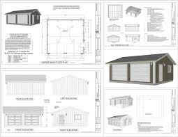2 Car Garage Shop Apartment Floor Plans Workshop Layout
