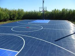 Sport Court, Game Courts, Home Court, Sports Courts, Backyard Game ... Triyae Asphalt Basketball Court In Backyard Various Design 6 Reasons To Install A Synlawn Home Decor Amazing Recreational Lighting Full 4 Poles Fixtures A Custom Half For The True Lakers Snapsports Outdoor Courts Game Millz House Cost Australia Home Decoration Residential Gallery News Good Carolbaldwin Multisport System Photo Diy Stencil Hoops Blog Clipgoo Modern