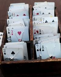 Playing Card Jewelry Merchandising Retail Idea