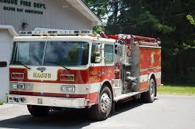 100 Pierce Trucks Fire Hague Volunteer Fire Department