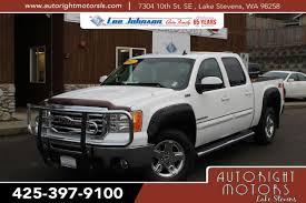 100 2012 Gmc Truck Used OneOwner GMC Sierra 1500 SLT In Lake Stevens WA Lee