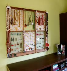 Window Frame Jewelry Display