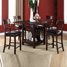 Dining Room Table Four Chairs Charming Sets Used Wood