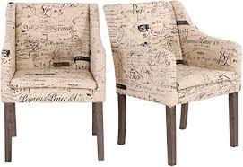 raburg loungesessel 2er set willow in beige schönschrift chesterfield design esszimmer wohnzimmerstühle mit stoffbezug steppung