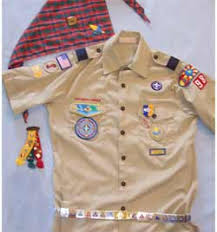 Cub Scout Committee Chair Patch Placement by Webelos Badge Location Tan Webelos Shirt Image Cub Scout