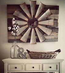 Contemporary Rustic Kitchen Wall Decor Picture