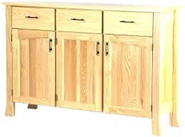 Unfinished Buffet Custom Built And Designed Shaker Style Sideboard Or Table