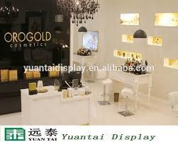 Elagant Table Design Nail Polish Salon Display Furniture