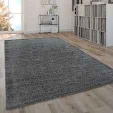 hochflor teppich shaggy teppich moderner wohnzimmer teppich in grau