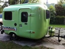 1985 Uhaul CT13 Travel Trailer Vintage