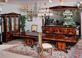 Empire Dining Room Set In Spanish Style