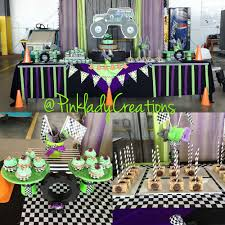 Monster Jam Gravedigger Birthday Party Ideas | Photo 6 Of 10 | Catch ... Chic On A Shoestring Decorating Monster Jam Birthday Party Nestling Truck Reveal Around My Family Table Birthdayexpresscom Monster Jam Party Favors Pinterest Real Parties Modern Hostess Favor Tags Boy Ideas At In Box Home Decor Truck Decorations Cre8tive Designs Inc Its Fun 4 Me 5th