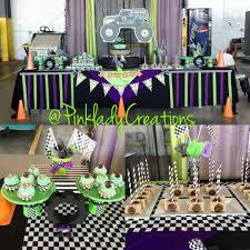 100 Monster Truck Decorations Jam Gravedigger Birthday Party Ideas Photo 8 Of 10