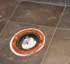 should i install ceramic tile around a toilet