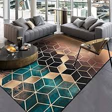 de moderne teppiche geometrisches muster teppich