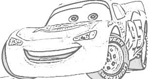 Coloring Pages Disney Cars Lightning Mcqueen Doc Hudson And Lighting