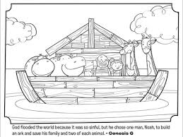 Noah039s Ark Bible Coloring Pages What039s In The