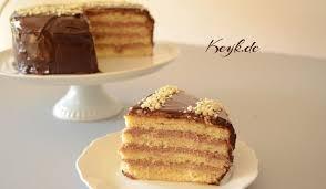 nutella mascarpone füllung mit schokoglasur kuchen nutella