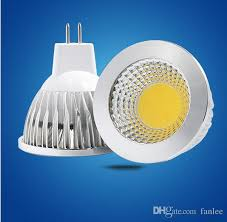 mr16 3w 12v ac dc cob led bulbs vs 30w halogen cree high power