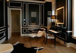 Donatella Versace Ornamentation NYC. Bold Black Walls With White ... How To Decorate Your Milan Appartment With Versace Home Decor Now For Home Vogue India Culture Living Inside The New Flagship Store Style By Fire The Milano Ridences Interior Design Homes A Great Best Images Ideas Versace Pinterest Interiors And Fniture Ebay Insideom Joss Outstanding Versace Google Glamour