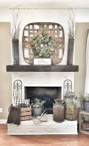 Primitive Decorating Ideas For Fireplace by Best 25 Country Fireplace Ideas On Pinterest Rustic Fireplace