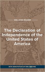The Declaration Of Independence United States America Full Text