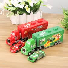 Disney Pixar Cars 3 2Pcs/Set Lightning McQueen Truck Uncle Mack The ...
