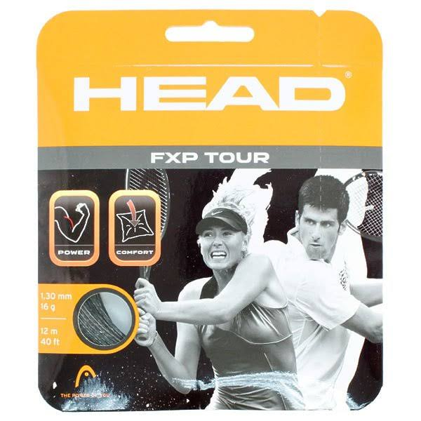 Head FXP Tour 16 Tennis String - Black
