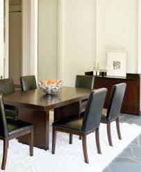 bari brown 9 pc dining set table 8 chairs furniture macy s