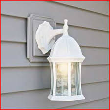 vinyl siding light fixture mount electrical diy chatroom home