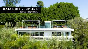100 Modern Homes Architecture California MidCentury 132 Temple Hill Residence Hollywood Hills CA