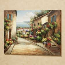 Tuscan Wall Decor For Kitchen by Streets Of Tuscany Canvas Wall Art