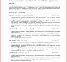 Create Staff Auditor Resume Sample Senior Accountant Example