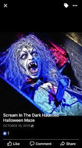 Scariest Halloween Attractions In California by Scream In The Dark Haunted Maze Frightfind
