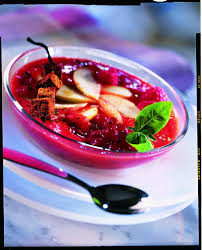 dessert aux fruits d ete recette gaspacho de fruits d été au basilic