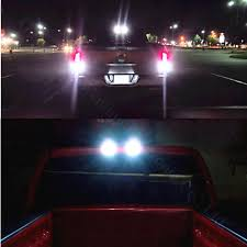 2x 10w canbus t15 912 w16w 4014 led 3rd brake l cargo light