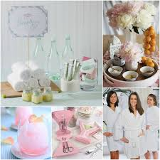 Pamper Party Ideas For Bridal Shower