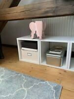 expedit regal ikea würfel wohnzimmer ebay kleinanzeigen