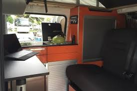 Recon Campers Nissan Nv 200 Van Conversion Interior