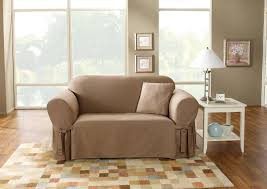 Sure Fit Sofa Covers Ebay by Contemporary Loveseat Slipcover Sets